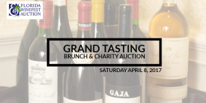 27TH ANNUAL FLORIDA WINEFEST & AUCTION GRAND TASTING BRUNCH & CHARITY AUCTION