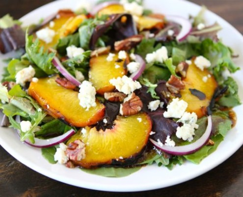 grilled-peach-salad