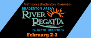 Bradenton Area River Regatta @ City Grille Bradenton Riverwalk