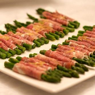 asparagus wrapped with asparagus and serrano ham serrano ham wrapped ...
