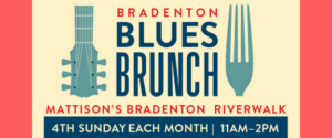 "Lauren Mitchell & ""The Professor"", Bradenton Blues Brunch @ Riverwalk Grille, Downtown Bradenton"