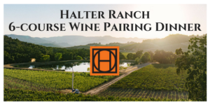 Halter Ranch Wine Pairing Dinner @ Forty-One