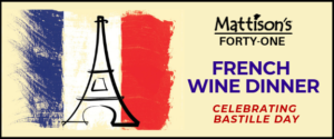 French Wine Dinner @ Forty-One