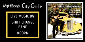 Shift Change Band @ City Grille, Downtown Sarasota